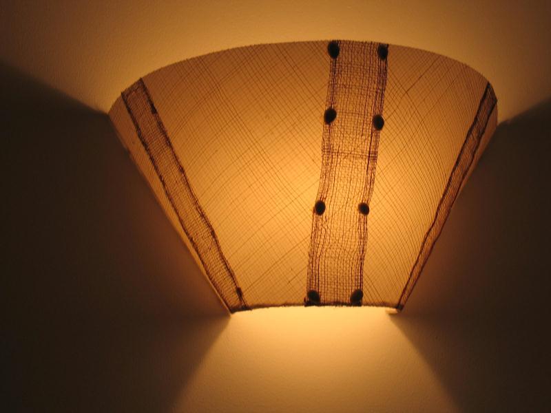 applique murale cr ations lampes et guirlandes lumineuses de agnesa n 28761 vue 4494 fois. Black Bedroom Furniture Sets. Home Design Ideas
