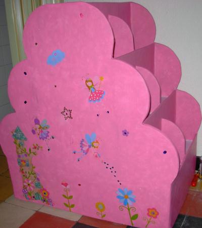 etagere recto verso cr ation meuble en carton de liliacr66 n 28 829 vue 2 365 fois. Black Bedroom Furniture Sets. Home Design Ideas