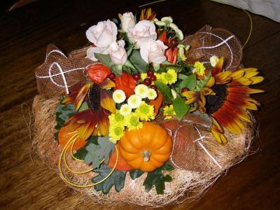 Bouquet d 39 automne cr ation art floral de nina n 2 887 - Bouquet d automne ...