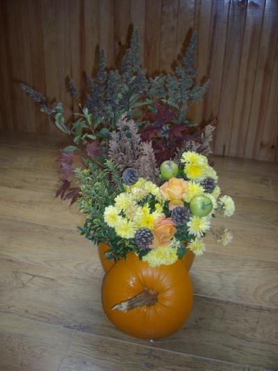 composition d 39 automne cr ation art floral de casamance n 29 272 vue 2 662 fois. Black Bedroom Furniture Sets. Home Design Ideas