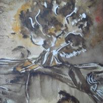 L'arbre sepia