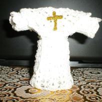 Aube porte dragées blanche