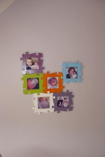 cadre p le m le puzzle multicolore cr ation chambre d 39 enfant de marina n 33 435 vue 3 763 fois. Black Bedroom Furniture Sets. Home Design Ideas
