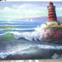 Mer et son phare