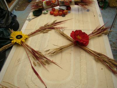 d co de mariage fleurs champ tre cr ation art floral de katy7574 n 35 784 vue 9 096 fois. Black Bedroom Furniture Sets. Home Design Ideas