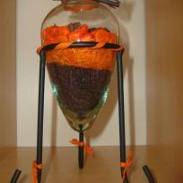 Lampe à l'orange