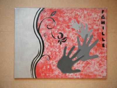 beaux arts peinture galerie creations toile les mains dargent