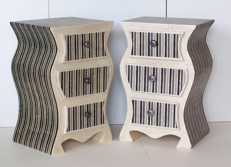 kit de chevet de nuit en carton cr ations meuble en carton de maison carton n 40726 vue 3152. Black Bedroom Furniture Sets. Home Design Ideas