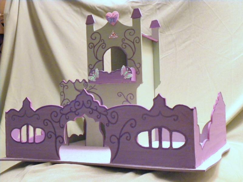 chateau de princesses en carton cr ations chambre d 39 enfant de alexia5575 n 40980 vue 3551 fois. Black Bedroom Furniture Sets. Home Design Ideas