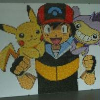 Portrait n° 10 - pokemon (en perles)