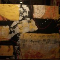 L'abstrait en couleurs sombres
