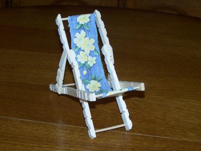 chaise longue de plage en pingle linge cr ation cr ation en pinces linge de marco76 n. Black Bedroom Furniture Sets. Home Design Ideas