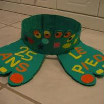 Chapeau de catherinette pour une podologue