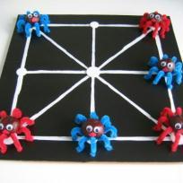 Jeu de société : Le jeu des araignées