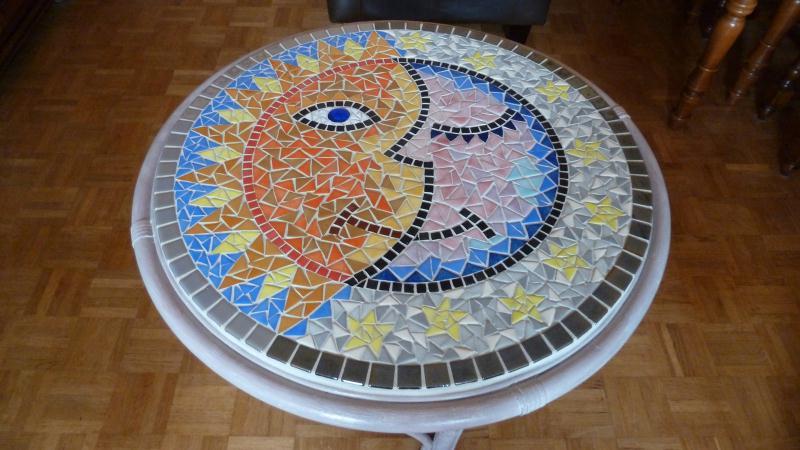 Table mosa que multicolor cr ations mosa que de vivivenita n 41803 vue 5285 fois - Modele de creation en mosaique ...