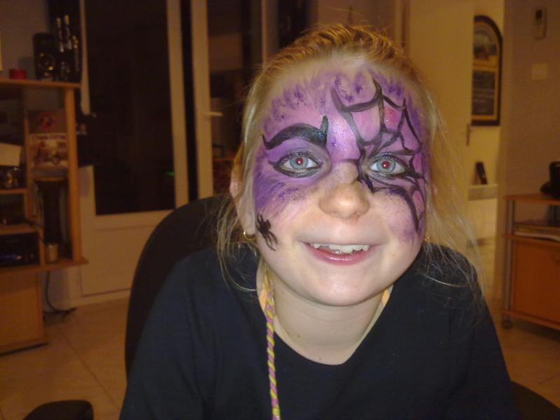 Maquillage d halloween fille - Maquillage fille halloween ...