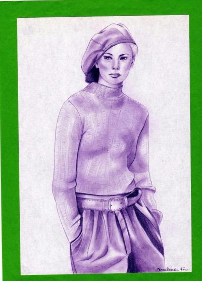 Gavroche (crayon de papier)