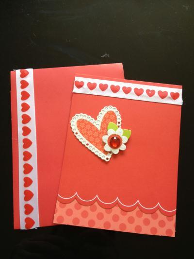 Cr ation carte st valentin faire part pour la saint valentin cr ation car - Creation saint valentin ...