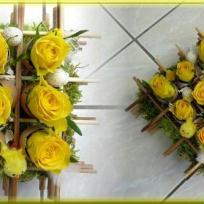 Compositions florales pour pâques