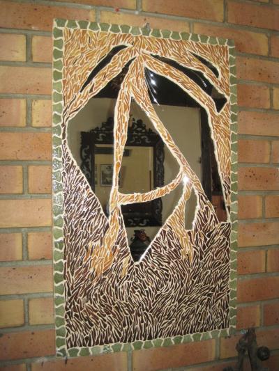 Cr ation miroir mosa que de briare cr ation mosa que de lolyne n 45 543 vu - Mosaique de miroir casse ...