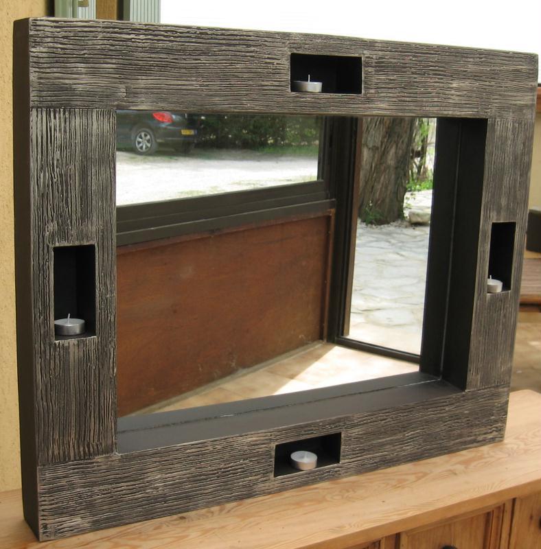Cr ation meuble en carton miroir tr s d co cr ations for Creation meuble carton