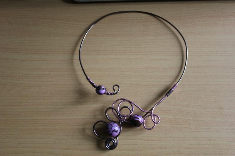 Cr ation bijoux en alluminium et pate fimo cr ations fil - Tuto bijoux pate fimo et fil aluminium ...