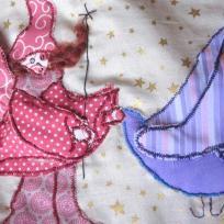 Création coussins déco pour chambre d'enfants