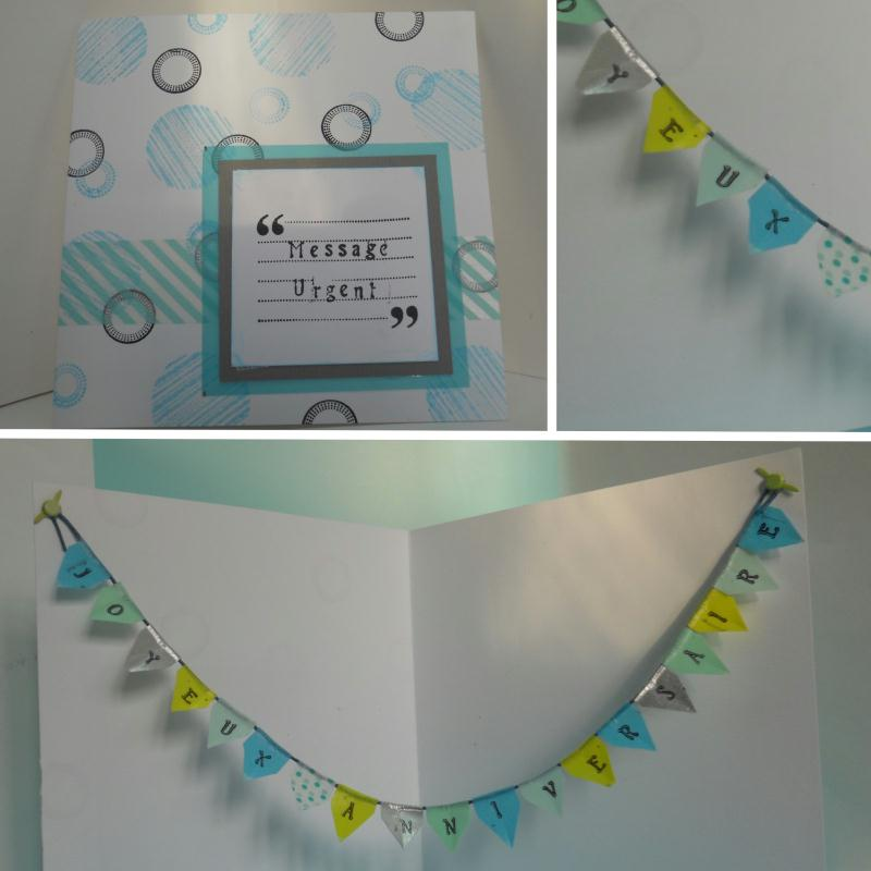 cr ation carte anniversaire tampons et masking tape cr ations carterie faire part de paucile. Black Bedroom Furniture Sets. Home Design Ideas