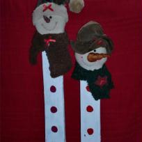 Création décorations de noël 2012