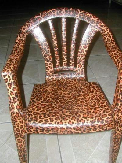 Chaise africaine cr ation d copatch de catou81 n 4 815 for Chaise africaine