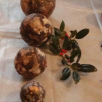 Création boules pour décoration de noël