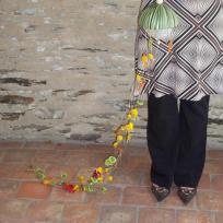 Fabrication bouquet de mariée technique enfilage