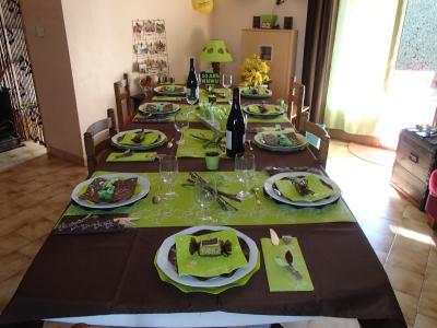 D coration table pour mes 50 ans cr ation art de la for Decoration 50 ans