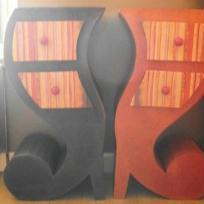 Fabrication 2 meubles en cartoninversés