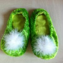 Confection de Petits chaussons de la fée Clochette.
