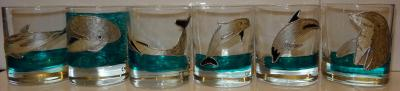 les verres ti 39 punch dauphins cr ation art de la table. Black Bedroom Furniture Sets. Home Design Ideas