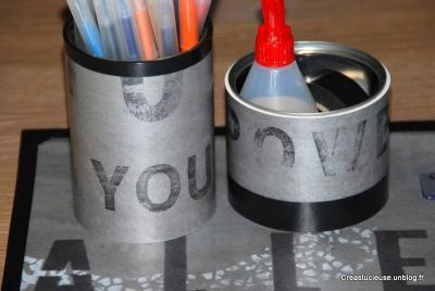 Recycler des chutes de lino et des bo tes de conserves - Chute de lino ...