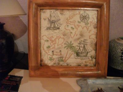 Cr ation carte du tr sor du pirate des cara bes cr ation - Decoration pirate des caraibes ...