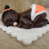 Création Bébés rigolo en fimo , figurine de bébé pour déco