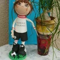 Création poupée fofuchos footballeur