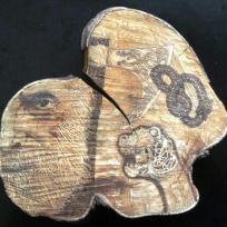 Pyro : viking lavoro di mio figlio marco 23 anni