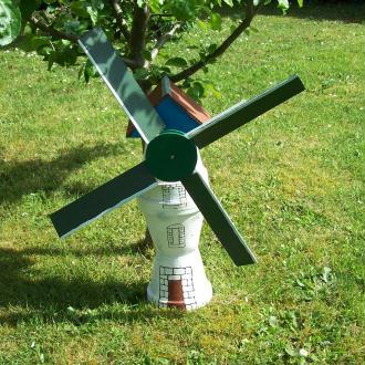 Création d'un moulin en pot