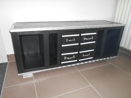 cr ation d 39 un cart 39 alu meuble tv en carton et alu cr ation meuble en carton de manalue9351 n. Black Bedroom Furniture Sets. Home Design Ideas