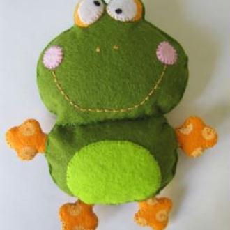 Création d'une grenouille qui louche