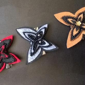 Création Barrettes à cheveux Papillons