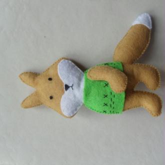 Création Figurine renard en feutrine