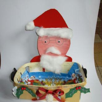 Création Panière à pain Noël