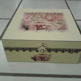 Création boîte pour le plaisir du thé