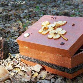 Création Boîte à bijoux Bronze iridescent