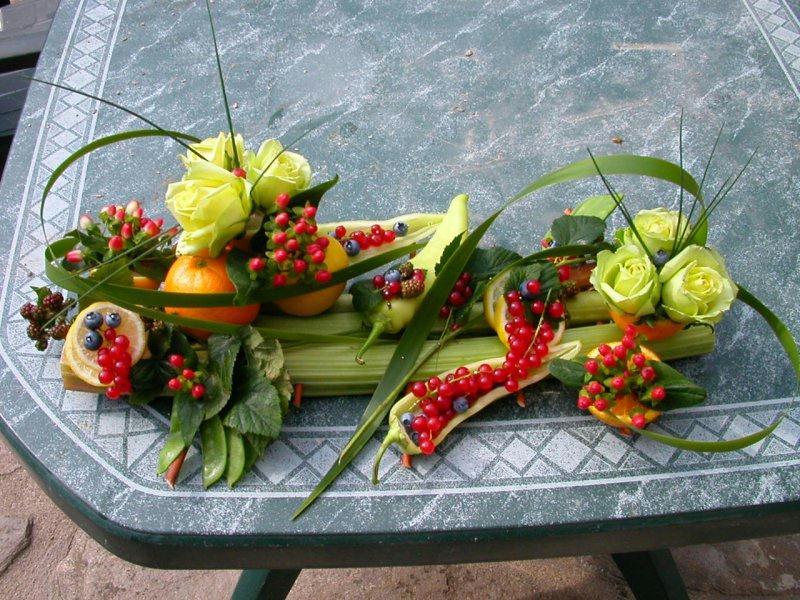 Loisirs cr atifs d co boutique de loisirs cr atifs creavea - Composition florale avec fruits legumes ...